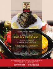 Areni Choir is Excited to Host Its 5th Annual Dolma Festival of 2018!