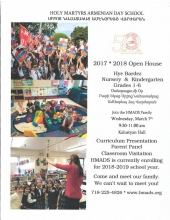 Nursery and Kindergarten Open House