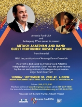 Artash Asatryan and Band in Concert