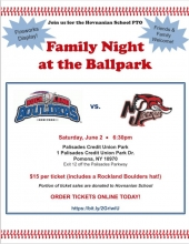 Hovnanian School Family Night at the Ballpark