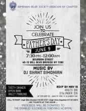 ARS NY Erebouni Chapter Father's Day Celebration