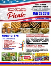 Food Festival  and Picnic at St. Thomas Armenian Church