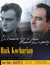 Haik Kocharian Live at Joe's Pub at the Public Theater