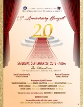 TCA Mher Megerdchian Theatrical Group 20th Anniversary Banquet