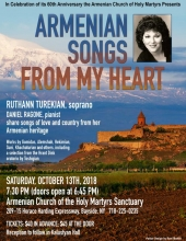Armenian Songs From My Heart