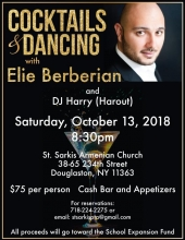 Cocktails and Dancing with Elie Berberian