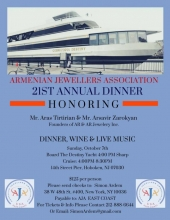 Armenian Jewelers Association 21st Annual Dinner