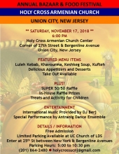 Holy Cross Union City Annual Bazaar & Food Festival