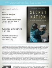 "Book Presentation ""Secret Nation"" The Hidden Armenians of Turkey"