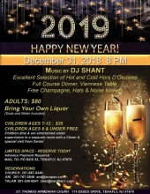 St. Thomas Armenian Church New Year's Eve Dinner Dance!