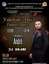 TCA - Greater NY Chapter 50th Anniversary Valentine's Day Dinner Dance