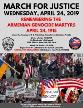 March for Justice 2019 - Remembering the Armenian Genocide Martyrs