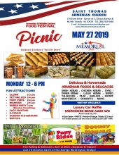 St. Thomas Hosts Food Festival and Picnic on Memorial Day, May 27