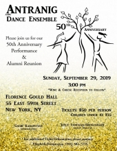 AGBU Antranig Dance Ensemble 50th Anniversary