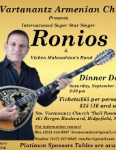 The Most-Awaited Event of the Year.The Legend Ronios Moalem in NJ