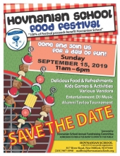 Hovnanian School Annual Food Festival