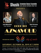 Shushi Armenian Dance Ensemble Presents Pour Toi  Aznavour