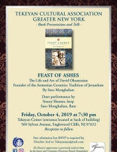 Feast of Ashes Book Presentation and Talk