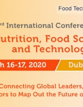 3rd International Conference on Nutrition, Food Science and Technology