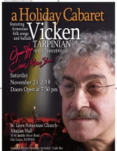 A Holiday Cabaret with Vicken Tarpinian