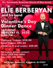 Elie Berberyan - Valentine's Day Dinner Dance