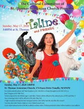 Cultural Committee of St. Thomas Armenian Church Presents Taline and Friends!