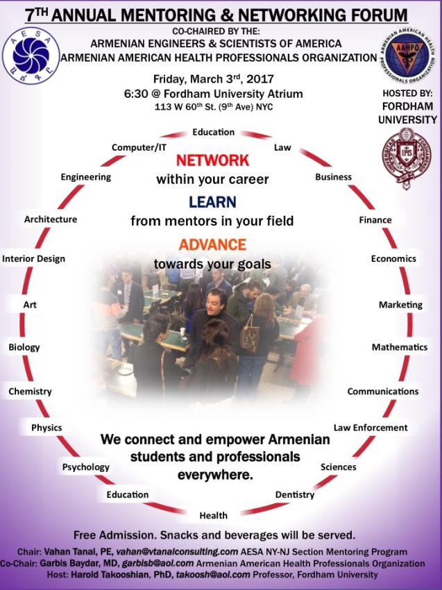 7th Annual Mentoring and Networking Forum