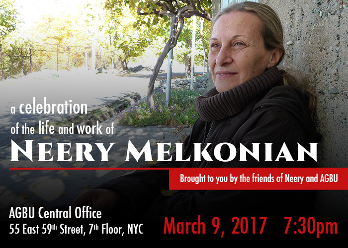 A Celebration of the Work and Life of Neery Melkonian