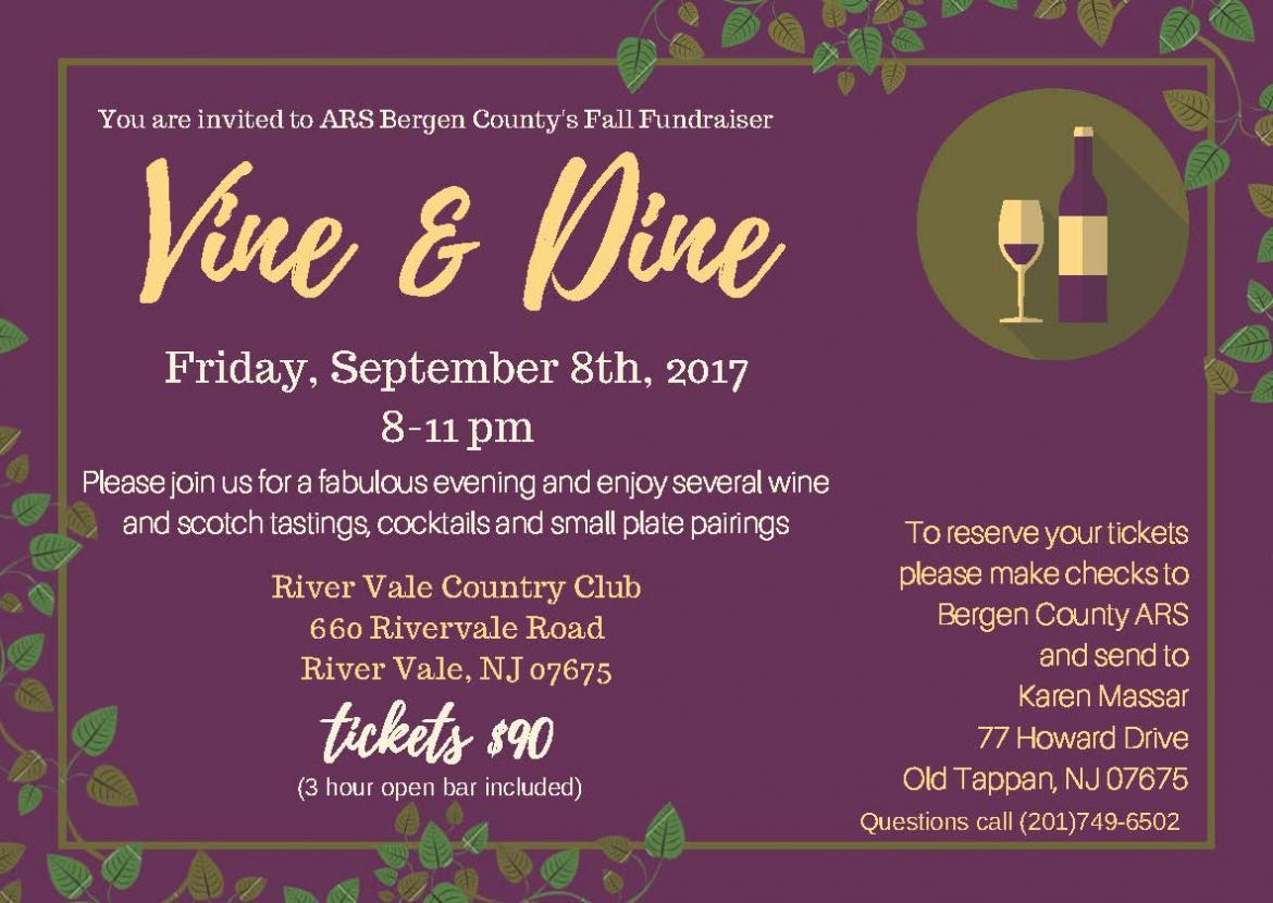 ARS Bergen County's Vine and Dine