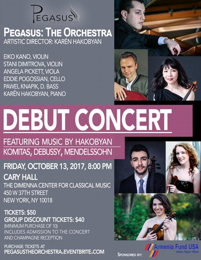 Pegasus: The Orchestra Debut Concert