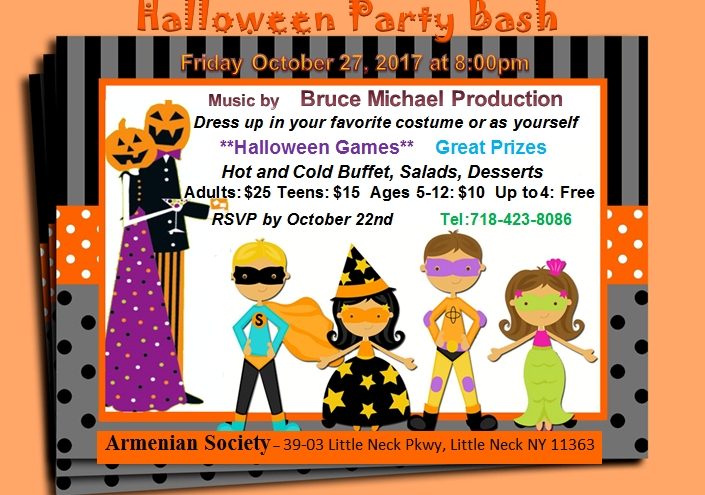 Annual Halloween Party Bash