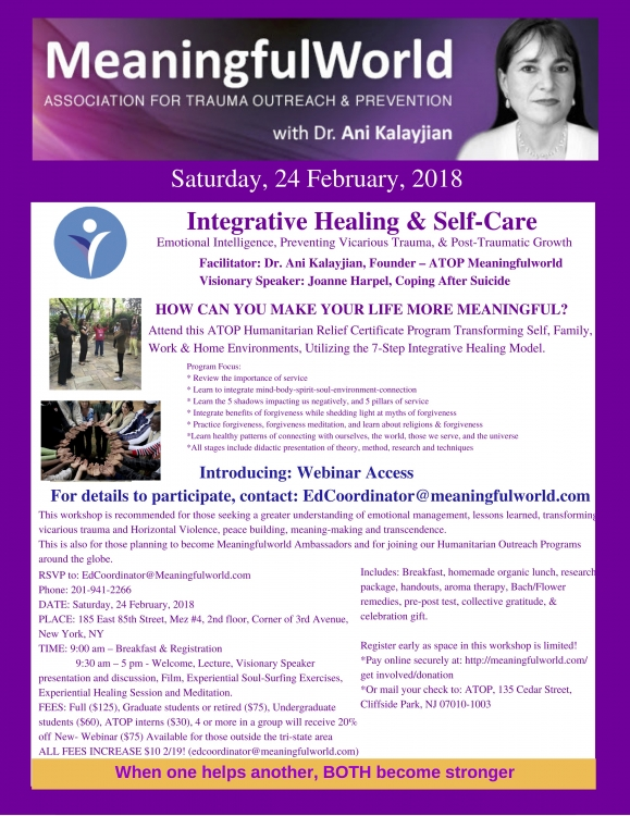 Meaningful World: Integrative Healing