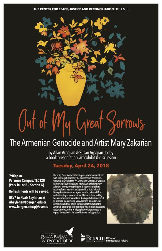 Out of My Great Sorrows: The Armenian Genocide and Artist Mary Zakarian