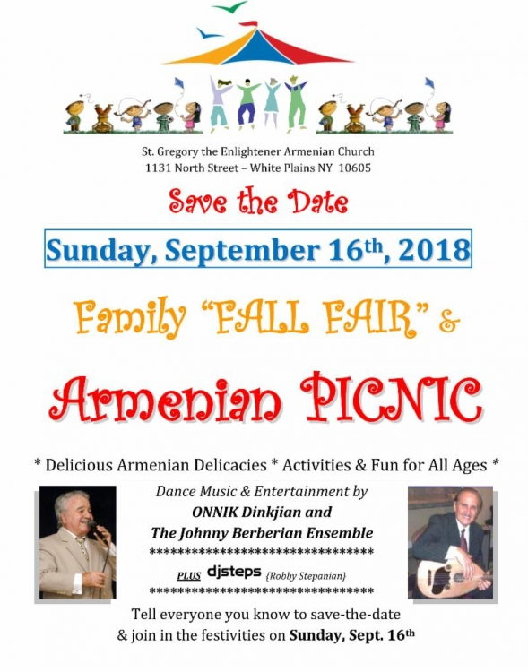 St. Gregory the Enlightener Church Picnic