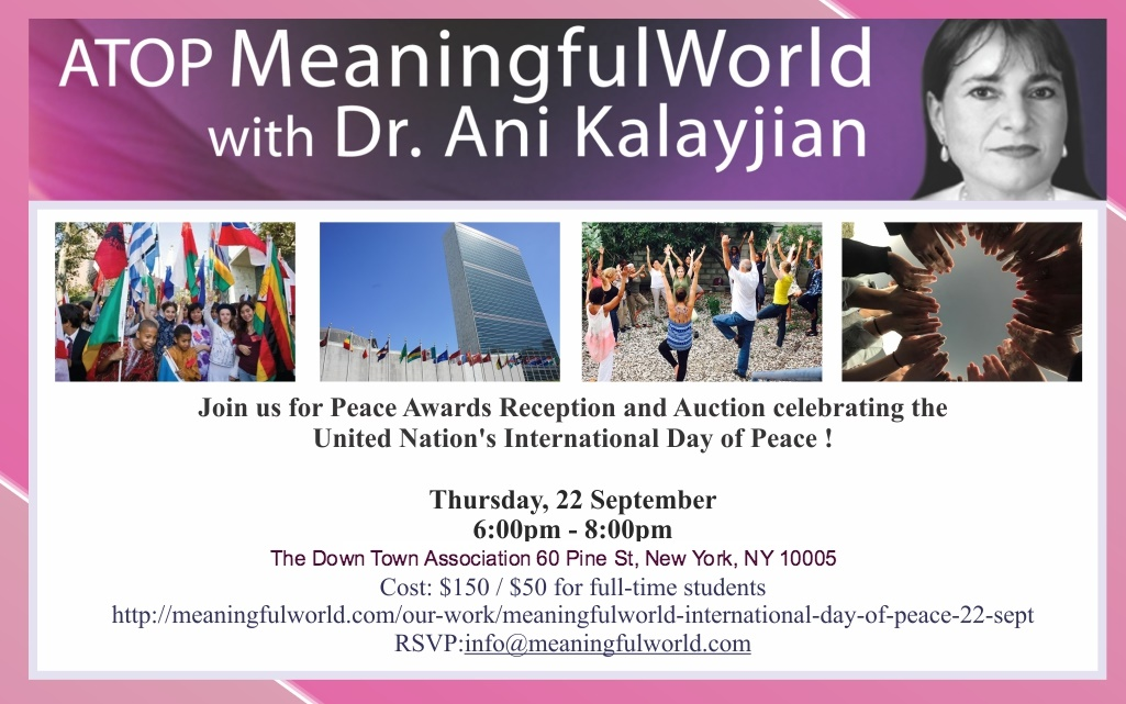 Meaningful World UN International Day of Peace