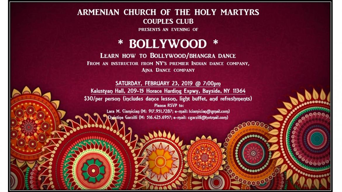 Bollywood Nights @ Armenian Church of the Holy Martyrs
