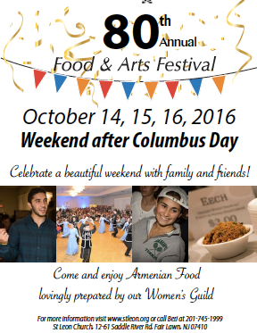 St Leon Food and Arts Festival, Oct 14
