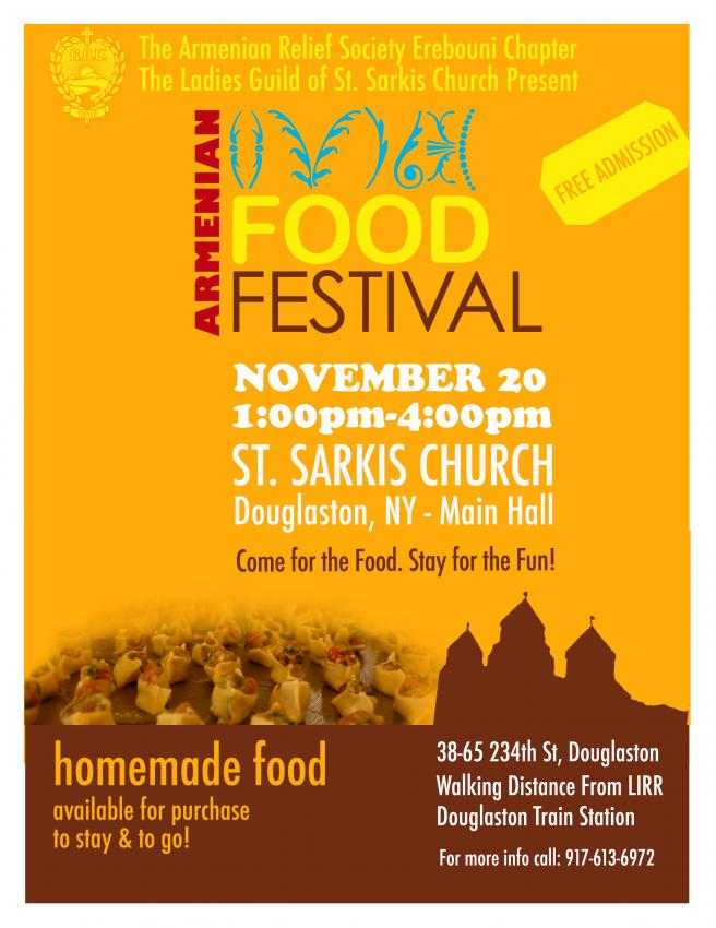 St. Sarkis Armenian Church Food Festival