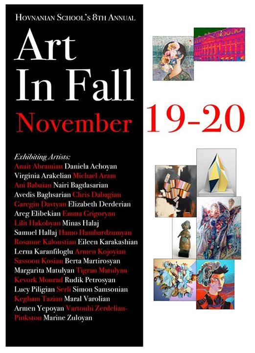 Hovnanian School's 8th Annual Art in Fall  (Nov. 19 & 20)