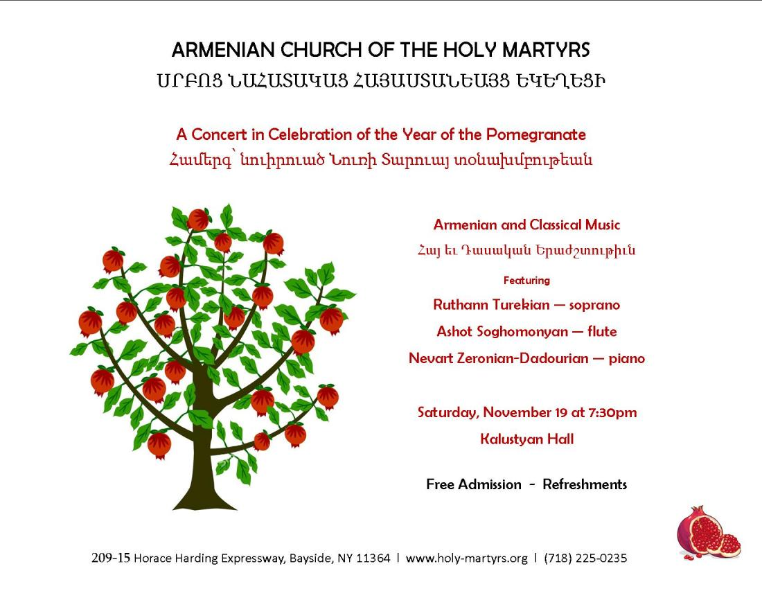 Concert in Celebration of the Year of the Pomegranate
